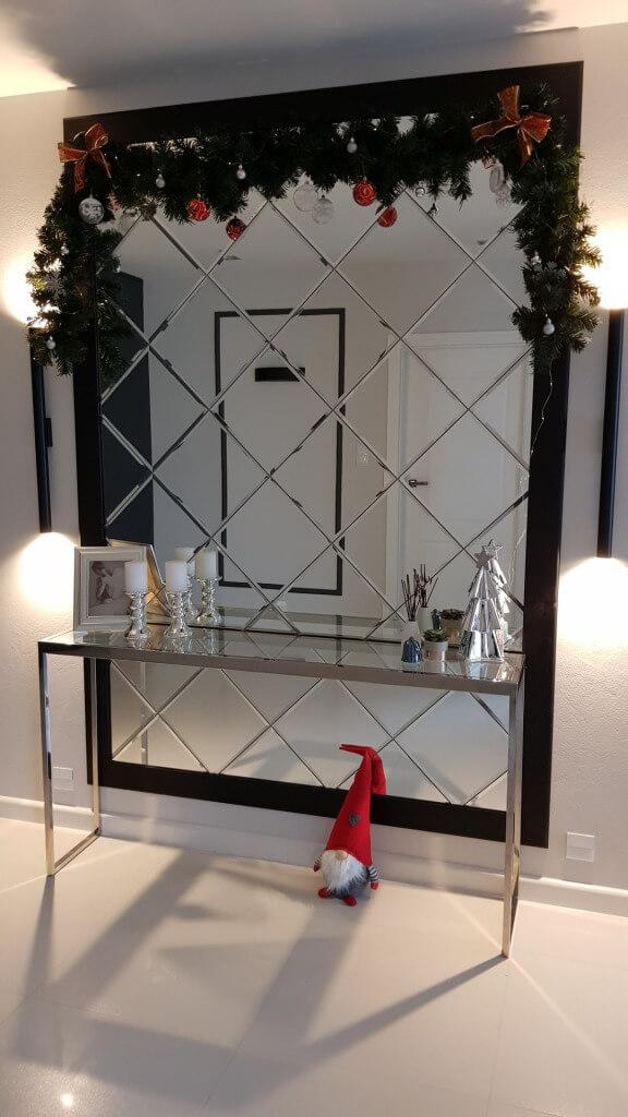 plytki kafelki lustrzane galakor inspiracje lustro dekoracje sciana scienne plytki nowoczesne glamour 10 Płytki lustrzane – nieograniczone możliwości aranżacyjne i dekoratorskie.