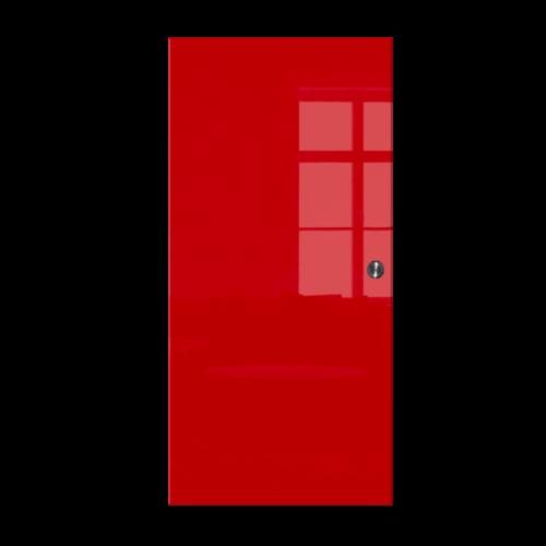 Galakor-Drzwi-Chowane-w-ściane-w-kasecie-szklane-czerwone-geo-pasy-różne-wzory-rozwiązanie-do-małej-przestrzeni (3)-min