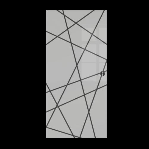 Galakor-Drzwi-Chowane-w-ściane-w-kasecie-szklane-czerwone-geo-pasy-różne-wzory-rozwiązanie-do-małej-przestrzeni (5)-min