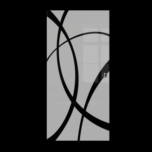 Galakor-Drzwi-Chowane-w-ściane-w-kasecie-szklane-czerwone-geo-pasy-różne-wzory-rozwiązanie-do-małej-przestrzeni (9)-min