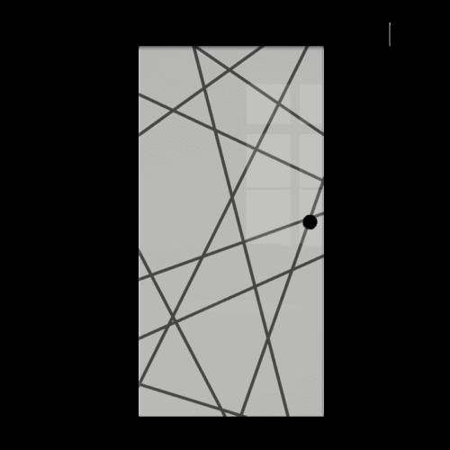 Galakor-drzwi-naścienne-przesuwne-Czarne-wykończenie-czarna-maskownica-loft-czarne-okucie-lustro-szkło-geo-satyna-przeźroczyste-białe-czarne-pasy-wzory-wzór(5) optimized