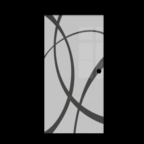 Galakor-drzwi-naścienne-przesuwne-Czarne-wykończenie-czarna-maskownica-loft-czarne-okucie-lustro-szkło-geo-satyna-przeźroczyste-białe-czarne-pasy-wzory-wzór(8) optimized