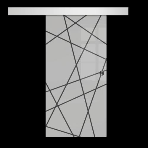 Galakor-drzwi-naścienne-przesuwne-lustro-szkło-geo-satyna-przeźroczyste-białe-czarne-pasy-wzory-wzór (5)-min