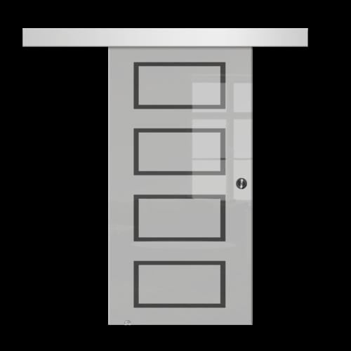 Galakor-drzwi-naścienne-przesuwne-lustro-szkło-geo-satyna-przeźroczyste-białe-czarne-pasy-wzory-wzór (7)-min