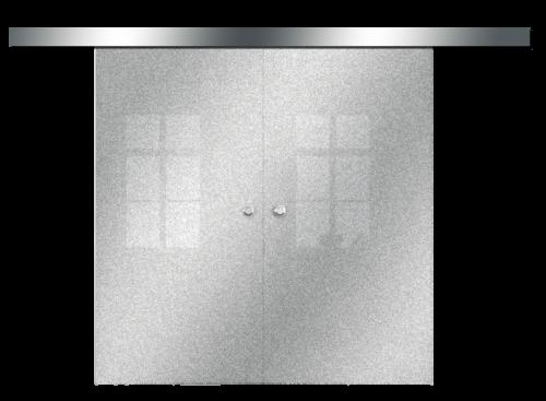 Galakor-drzwi-podwójne-naścienne-przesuwne-lustro-szkło-geo-satyna-przeźroczyste-białe-czarne-pasy-wzory-wzór (6)-min