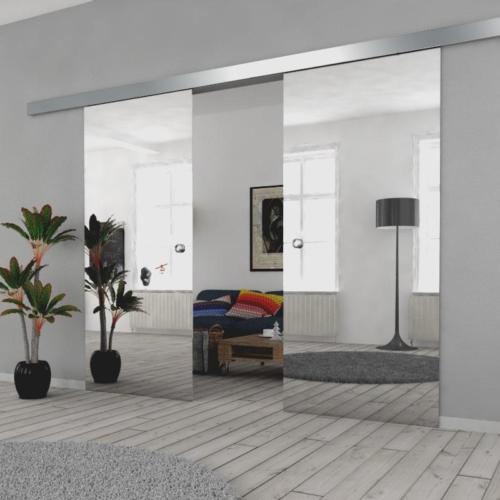 Galakor-drzwi-podwójne-naścienne-przesuwne-lustro-szkło-geo-satyna-przeźroczyste-białe-czarne-pasy-wzory-wzór (7)-min