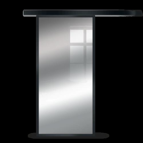 Galakor-Drzwi-Czarna-Rama-Aluminiowa-Szklane-Przesuwne-Naścienne-Loft (7)