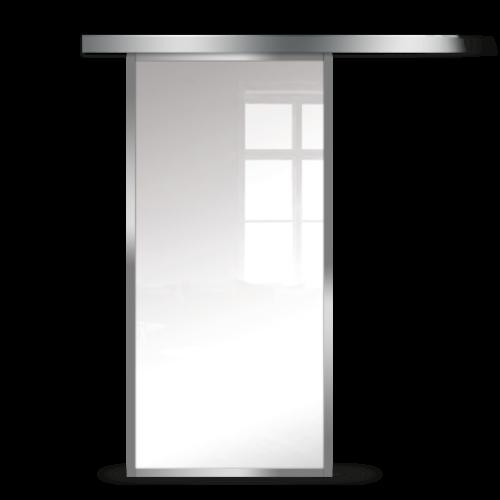 Galakor-Drzwi-Srebrna-Rama-Aluminiowa-Szklane-Przesuwne-Naścienne-Loft (1)
