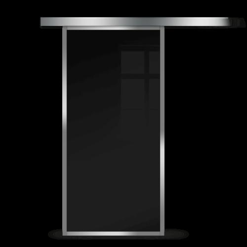 Galakor-Drzwi-Srebrna-Rama-Aluminiowa-Szklane-Przesuwne-Naścienne-Loft (2)
