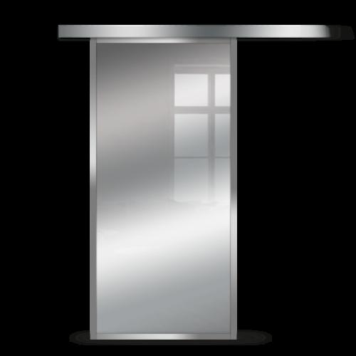 Galakor-Drzwi-Srebrna-Rama-Aluminiowa-Szklane-Przesuwne-Naścienne-Loft (3)
