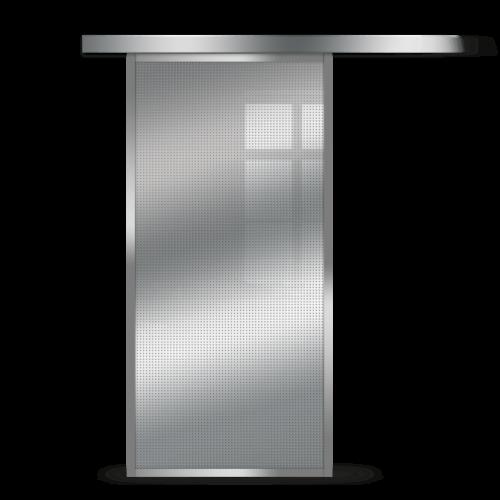 Galakor-Drzwi-Srebrna-Rama-Aluminiowa-Szklane-Przesuwne-Naścienne-Loft (4)