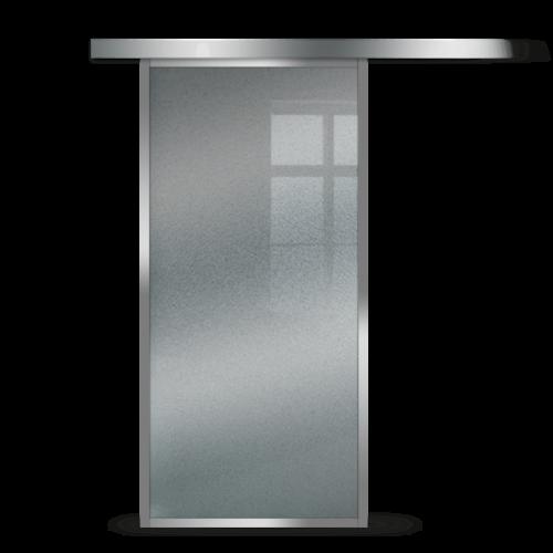 Galakor-Drzwi-Srebrna-Rama-Aluminiowa-Szklane-Przesuwne-Naścienne-Loft (5)
