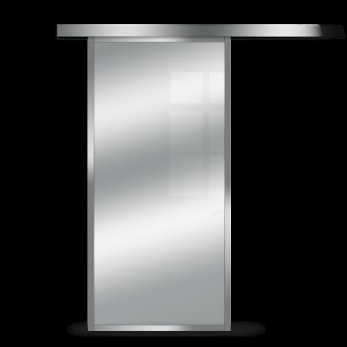 Galakor-Drzwi-Srebrna-Rama-Aluminiowa-Szklane-Przesuwne-Naścienne-Loft (7)